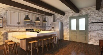 Online design Eclectic Kitchen by Morgan W. thumbnail