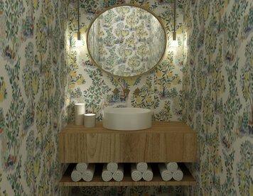 Online design Modern Bathroom by Caroline B. thumbnail