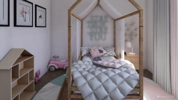 Online design Modern Bedroom by Leah M. thumbnail