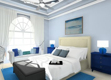Online design Glamorous Bedroom by Noraina Aina M. thumbnail