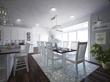 Online design Glamorous Dining Room by Dominika Z. thumbnail