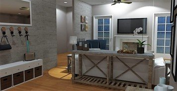 Online design Transitional Living Room by Brittany J. thumbnail
