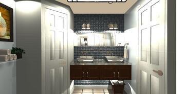 Online design Contemporary Bathroom by Audrey P. thumbnail