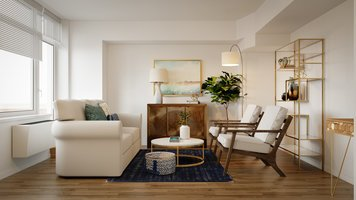 Online design Glamorous Combined Living/Dining by Sarah M. thumbnail