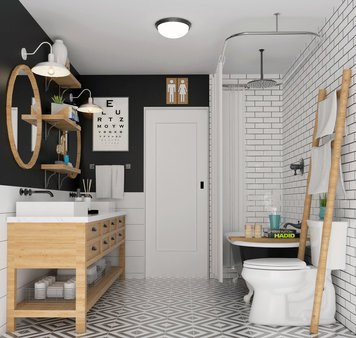 Online design Transitional Bathroom by Francis D. thumbnail