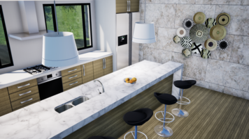 Online design Eclectic Kitchen by Kimberley S. thumbnail