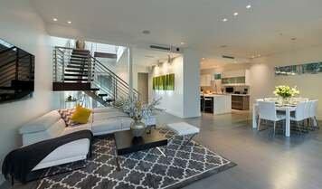 Online design Modern Living Room by Sara L. thumbnail