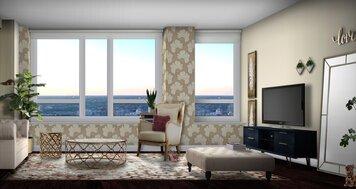 Online design Glamorous Living Room by Marisa G. thumbnail