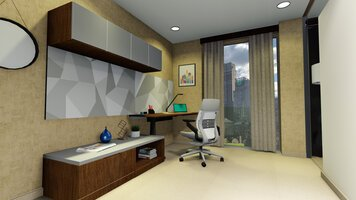 Online design Contemporary Home/Small Office by Aboli P. thumbnail