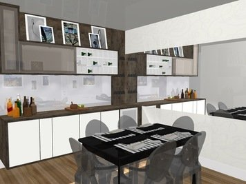 Online design Traditional Dining Room by Yasmin C. thumbnail