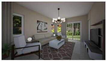 Online design Modern Living Room by Daisy A. thumbnail