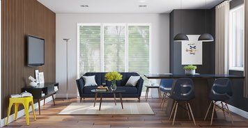 Online design Contemporary Combined Living/Dining by João A. thumbnail