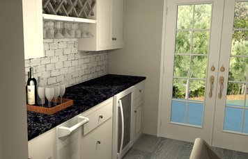 Online design Traditional Kitchen by Amber R. thumbnail