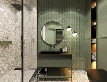 Online design Modern Bathroom by Kristina B. thumbnail