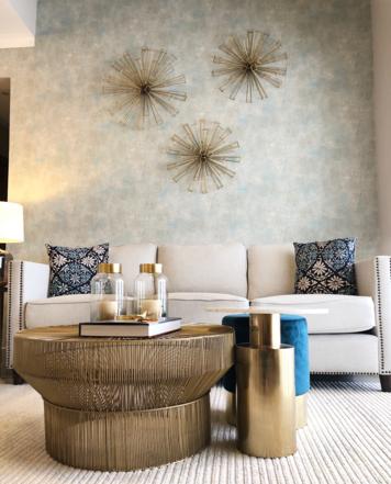 Online design Transitional Living Room by Perla V. thumbnail