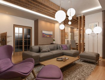Online design Eclectic Living Room by Natasa P. thumbnail