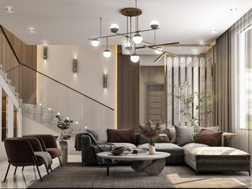 Online design Contemporary Living Room by Zahra M. thumbnail