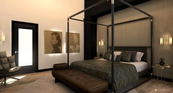 Online design Modern Bedroom by Kristin W. thumbnail