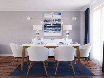 Online design Contemporary Dining Room by Rajna S. thumbnail