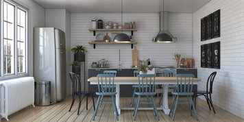 Online design Transitional Kitchen by Shofy D. thumbnail