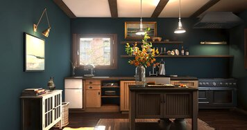 Online design Transitional Kitchen by Erin R. thumbnail