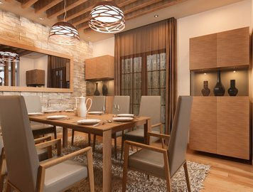 Online design Eclectic Dining Room by Natasa P. thumbnail