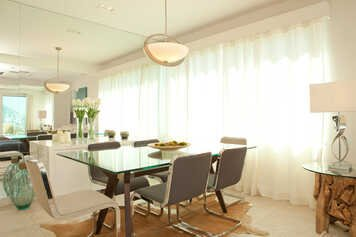 Online design Transitional Combined Living/Dining by Renata B. thumbnail