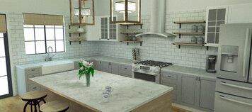 Online design Modern Kitchen by Merry M. thumbnail
