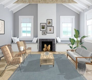 Online design Beach Living Room by Liz C. thumbnail