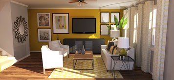 Online design Contemporary Living Room by Amandela A. thumbnail