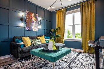 Online design Eclectic Living Room by Deidre B. thumbnail
