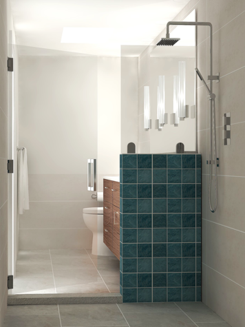 Online design Contemporary Bathroom by Theresa W. thumbnail