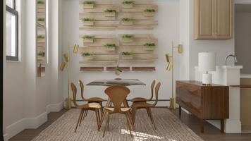 Online design Eclectic Dining Room by Nedith A. thumbnail