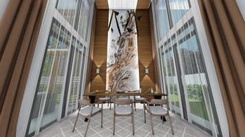 Online design Transitional Dining Room by FatehahCheMat thumbnail