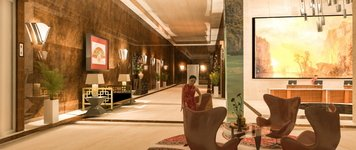 Online design Transitional Hallway/Entry by Shanthi O. thumbnail