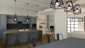 Online design Country/Cottage Kitchen by Selma A. thumbnail