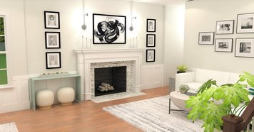 Online design Contemporary Living Room by Brittany J. thumbnail