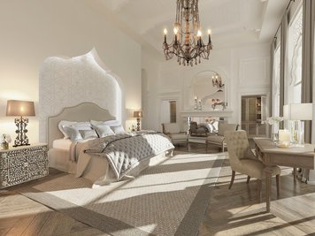 Online design Traditional Bedroom by Nathalie I. thumbnail