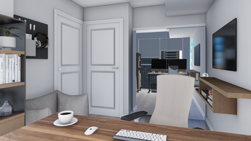 Online design Modern Home/Small Office by Picharat A.  thumbnail