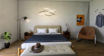 Online design Modern Bedroom by Jacky G. thumbnail