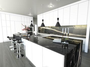 Online design Modern Kitchen by Lovisa K. thumbnail