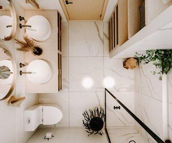Online design Modern Bathroom by Martyna C. thumbnail
