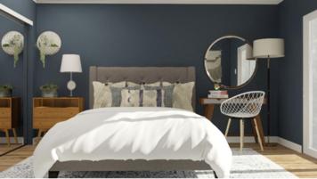 Online design Modern Bedroom by Greta Z. thumbnail
