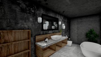 Online design Contemporary Bathroom by Seda G. thumbnail