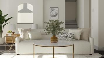 Online design Glamorous Living Room by Basmah E. thumbnail
