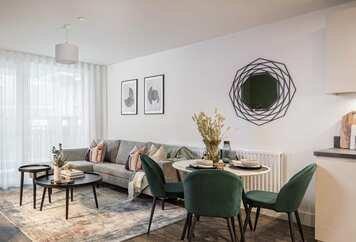 Online design Modern Living Room by Monika V. thumbnail