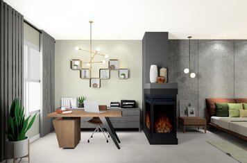 Online design Modern Home/Small Office by Noraina Aina M. thumbnail