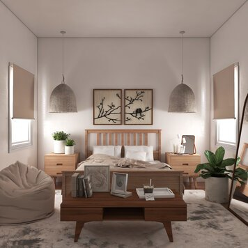 Online design Eclectic Bedroom by Shofy D. thumbnail