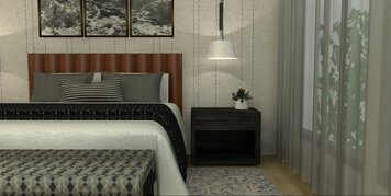 Online design Transitional Bedroom by Caroline B. thumbnail