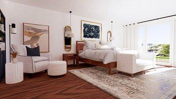 Online design Modern Bedroom by Ryley B. thumbnail